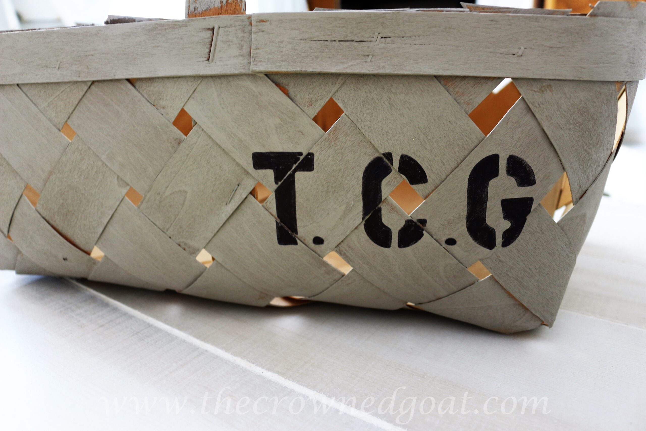 Personalized Baskets for Office Storage