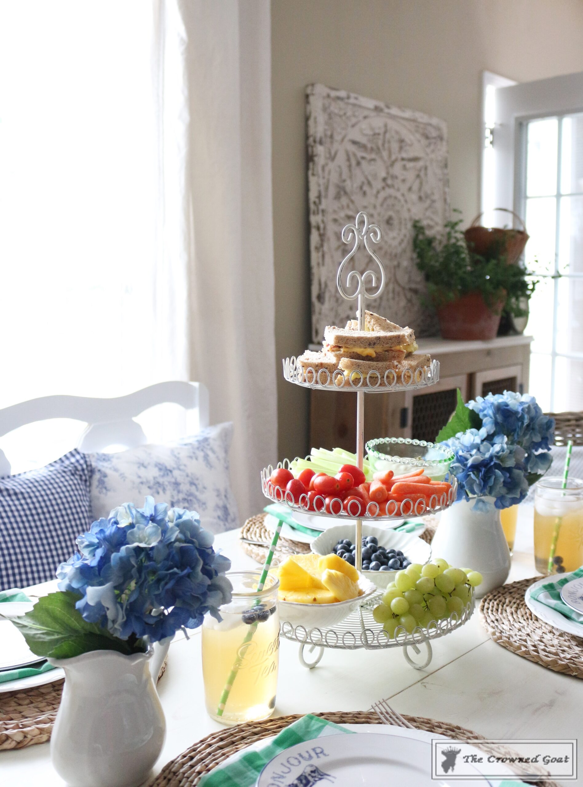 Summer Inspired Tablescape