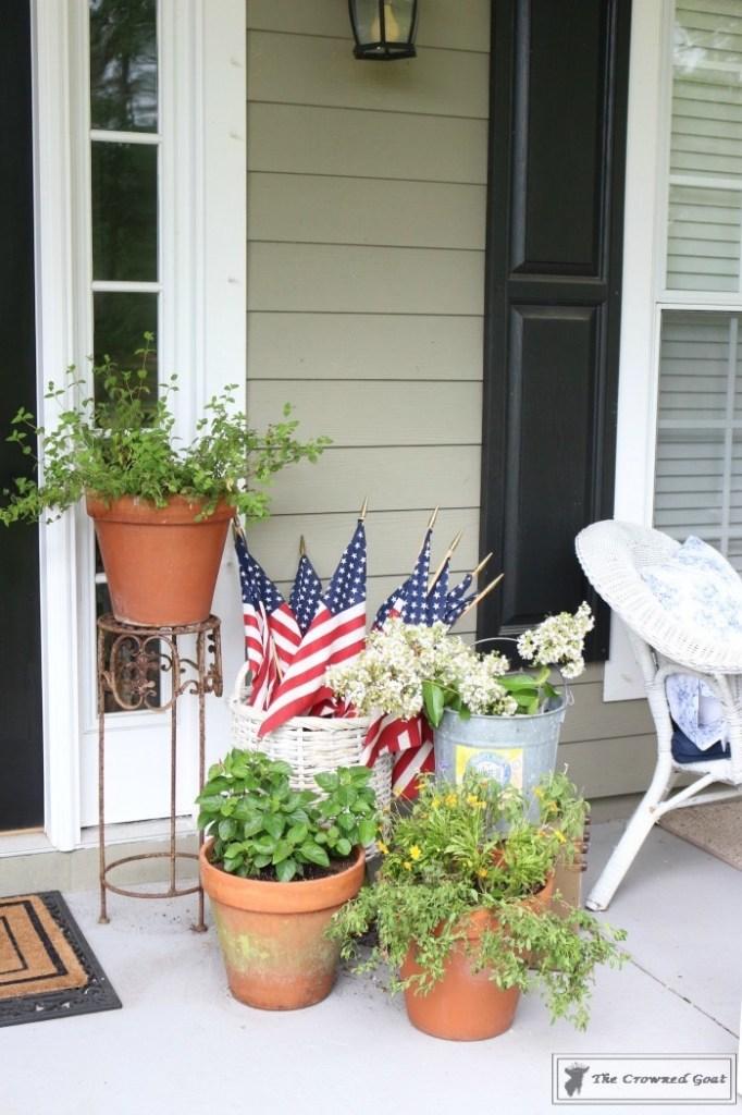 Patriotic Summer Porch - 10