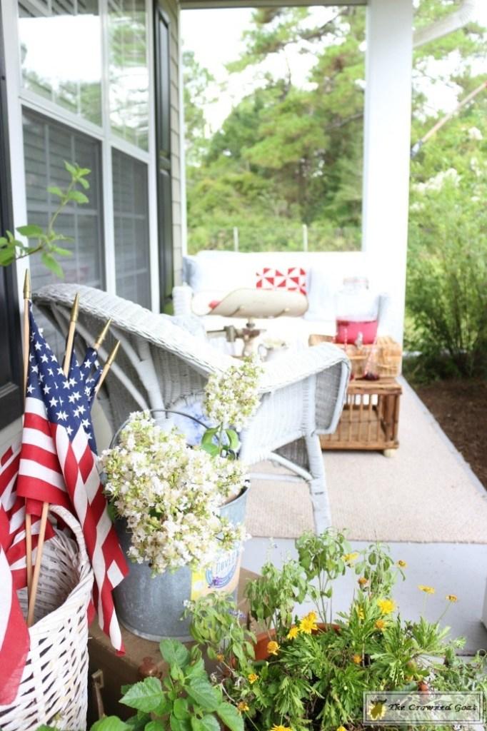 Patriotic Summer Porch - 11