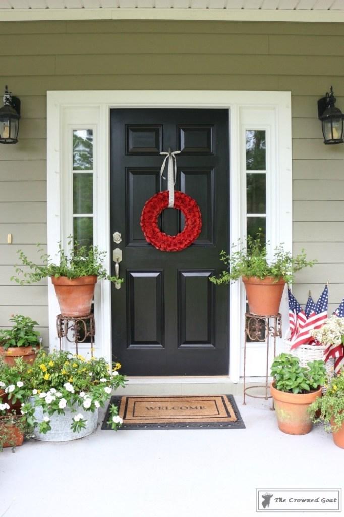 Patriotic Summer Porch - 2
