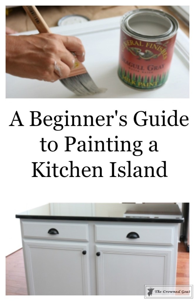 Seagull Gray Kitchen Island-1