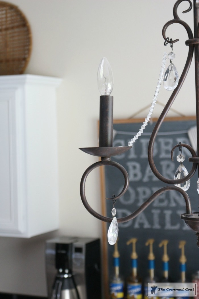 One Easy Update for a Simple Chandelier