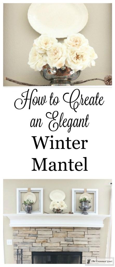 Elegant Winter Mantel-1