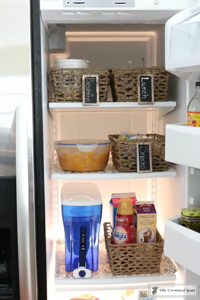 How to Use Baskets to Organize Your Refrigerator