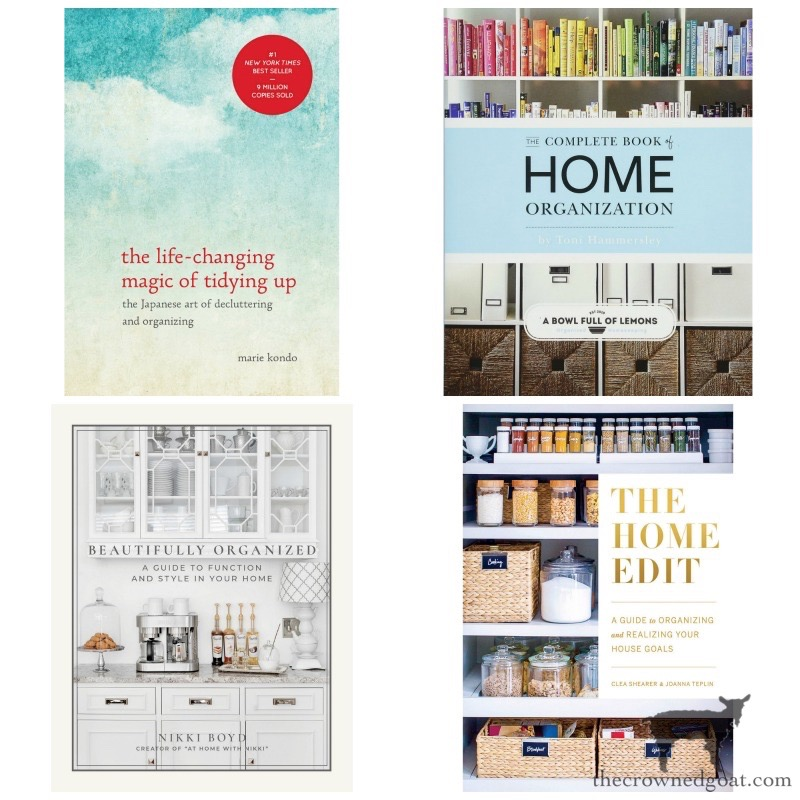 Organizing tips from books