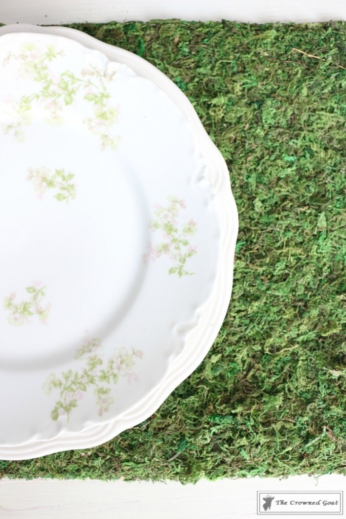 How to Make Moss Placemats-5
