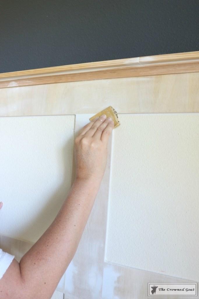 Installing Board and Batten-17