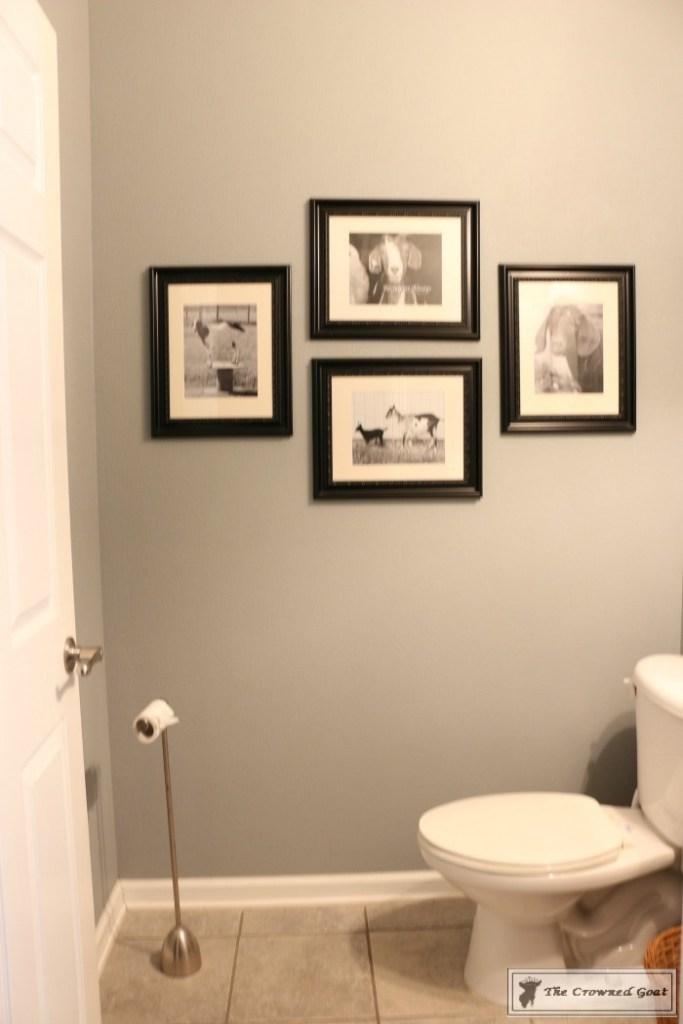Adding Board and Batten to the Half Bathroom-1