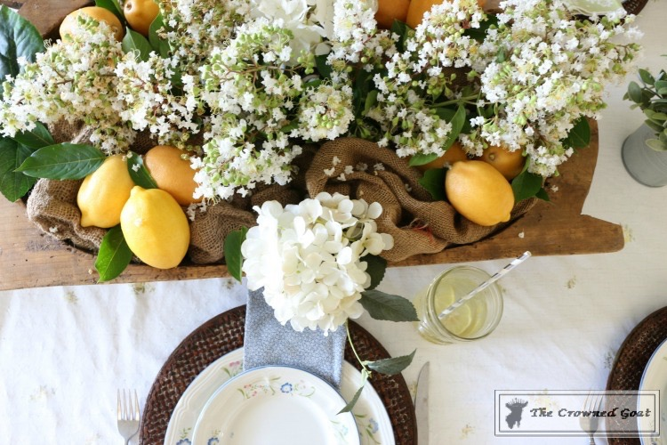 Back to Basics: Summer Tablescapes