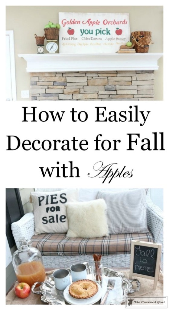 How to Decorate for Fall with Apples-1