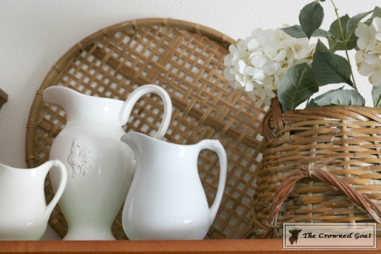 Decorating Kitchen Cabinets-The Crowned Goat-1