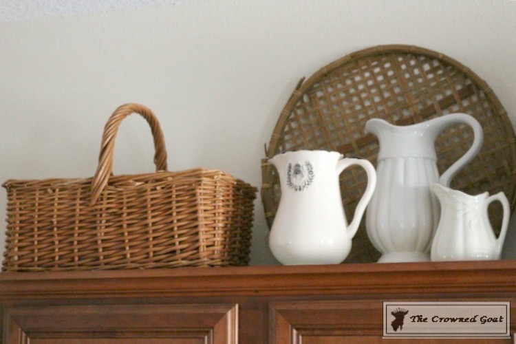 Decorating Kitchen Cabinets-The Crowned Goat-2
