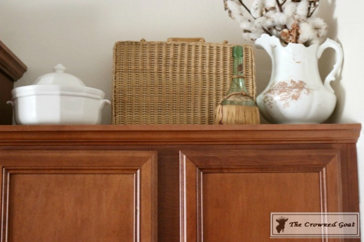 Decorating Kitchen Cabinets-The Crowned Goat-3
