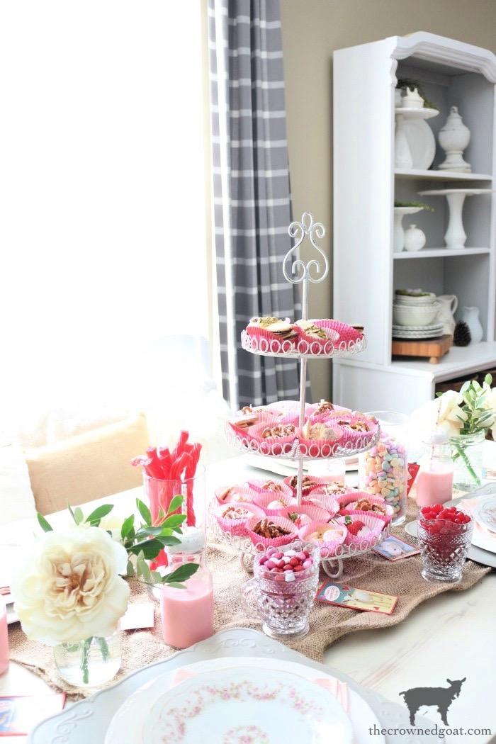 Valentine's Dessert Buffet