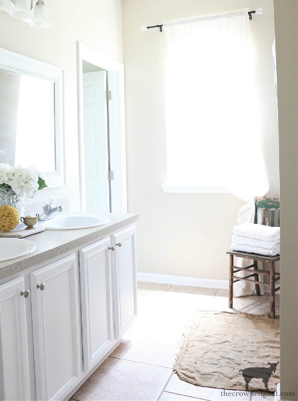 5 Key Spaces to Organize Before School Starts-The Bathroom-The Crowned Goat