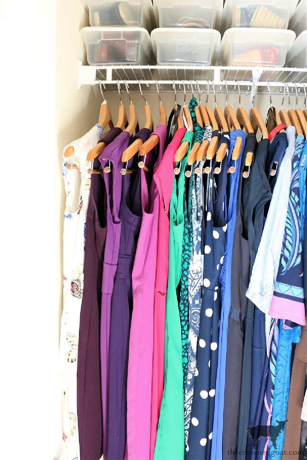 5 Key Spaces to Organize Before School Starts-Your Closet-The Crowned Goat