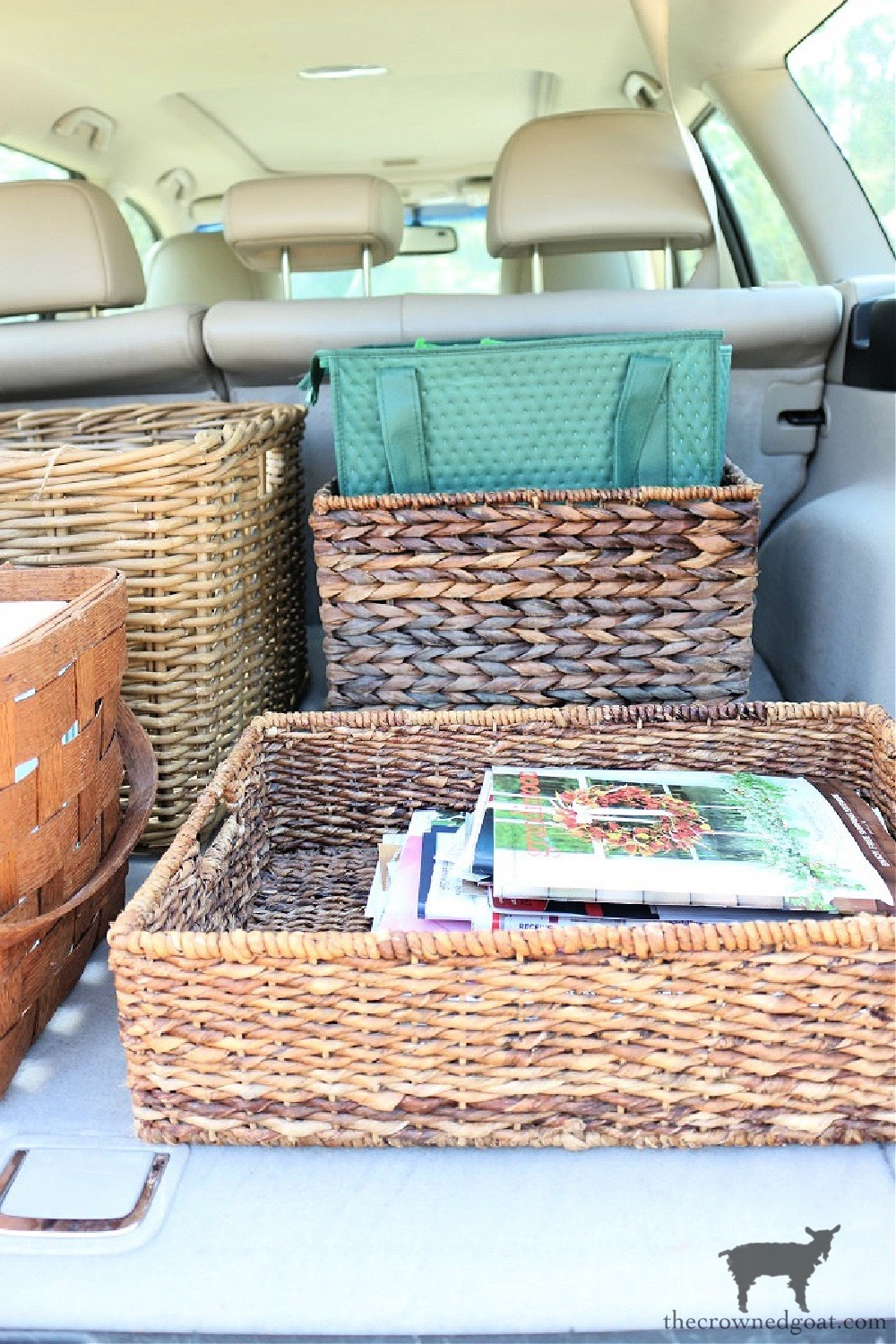 5 Key Spaces to Organize Before School Starts-Your Car-The Crowned Goat
