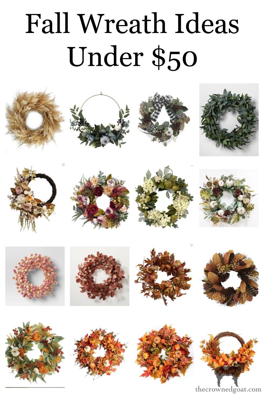 Budget Friendly Fall Wreath Ideas