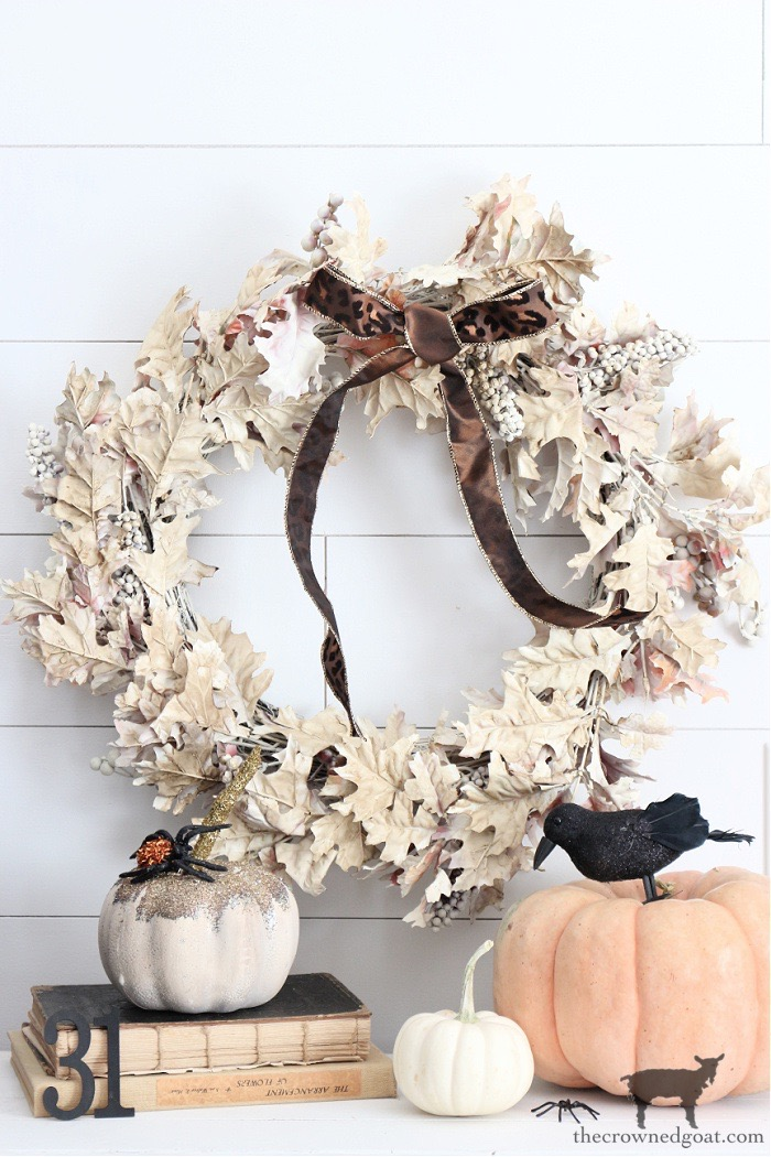 How to Repurpose an Old Fall Wreath