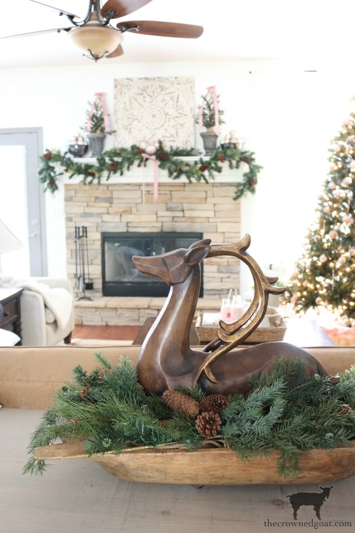 Christmas Inspired Living Room