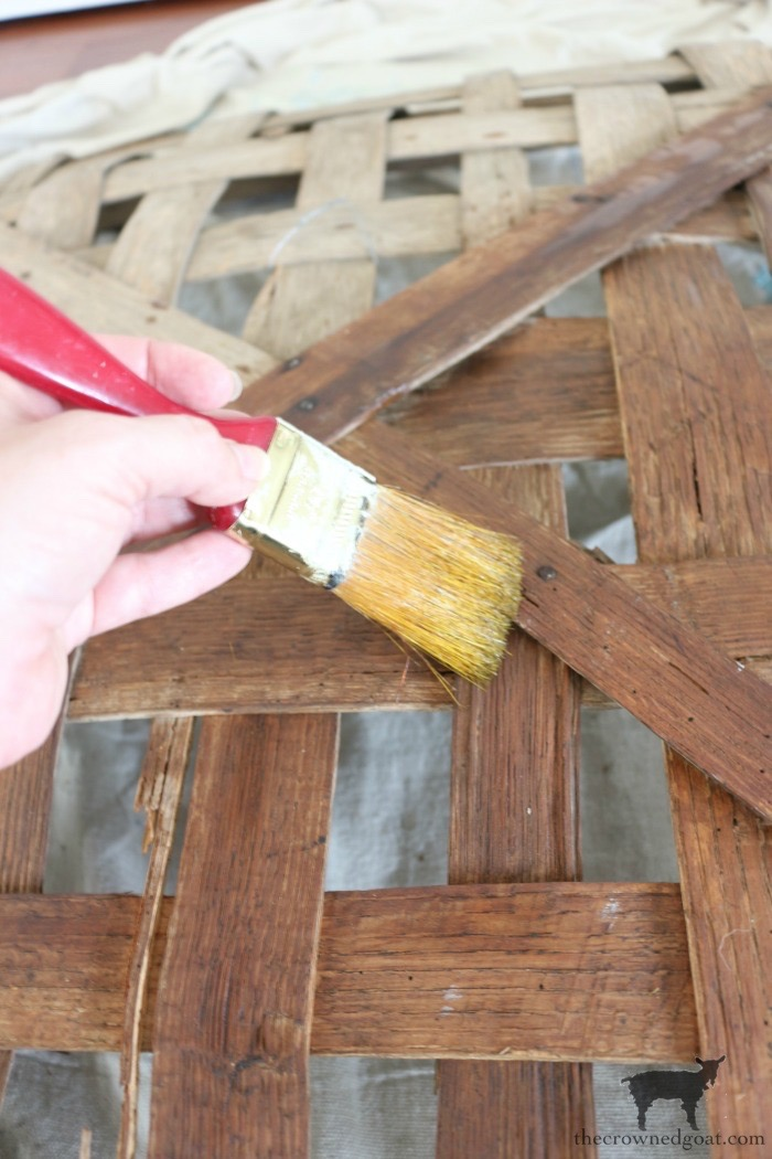 The Easiest Way to Revitalize an Old Tobacco Basket