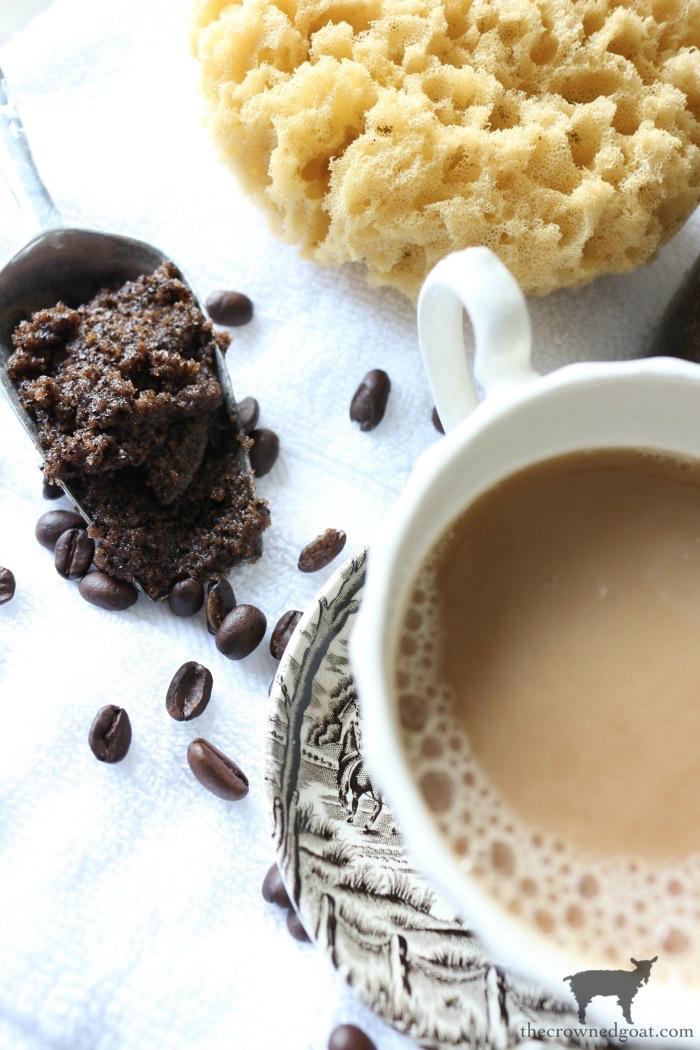 Cinnamon and Vanilla Latte Brown Sugar Scrub