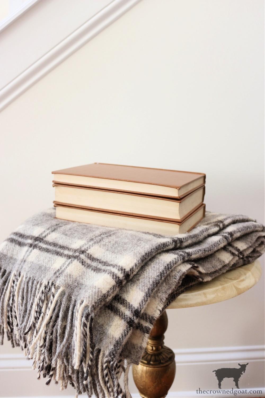 Vintage Flannel Plaid Blanket-The Crowned Goat