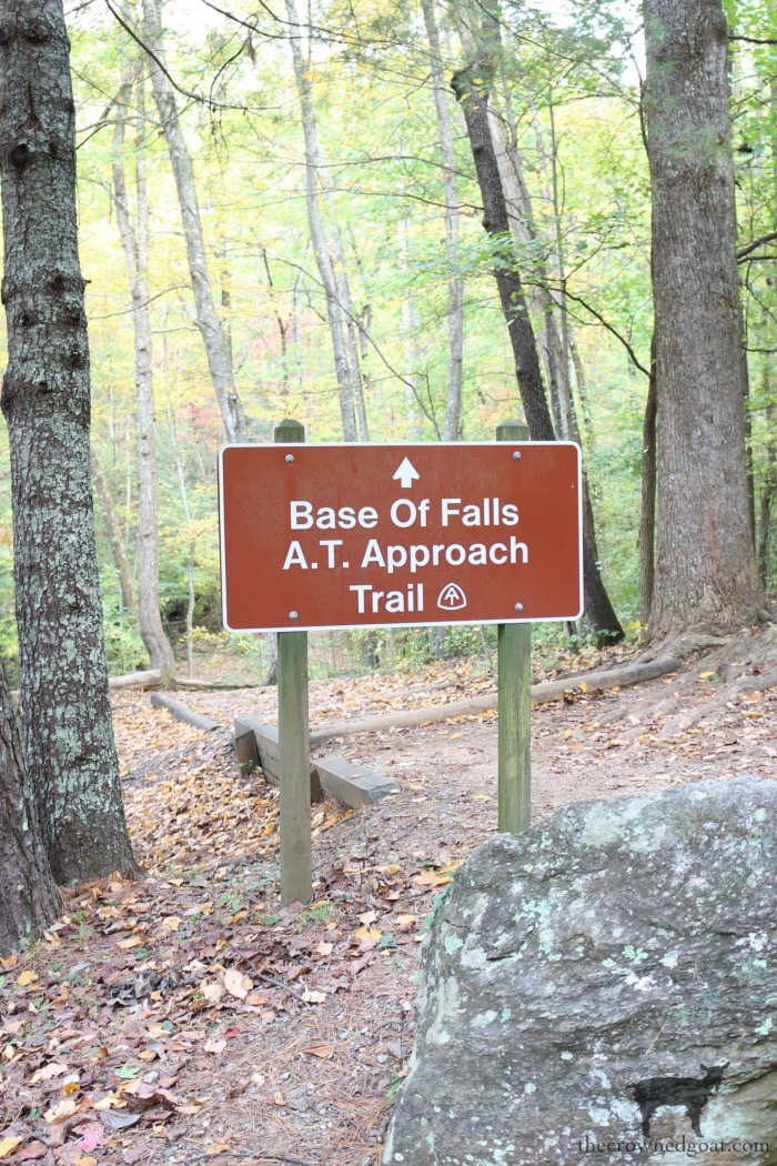 A.T Trail sign