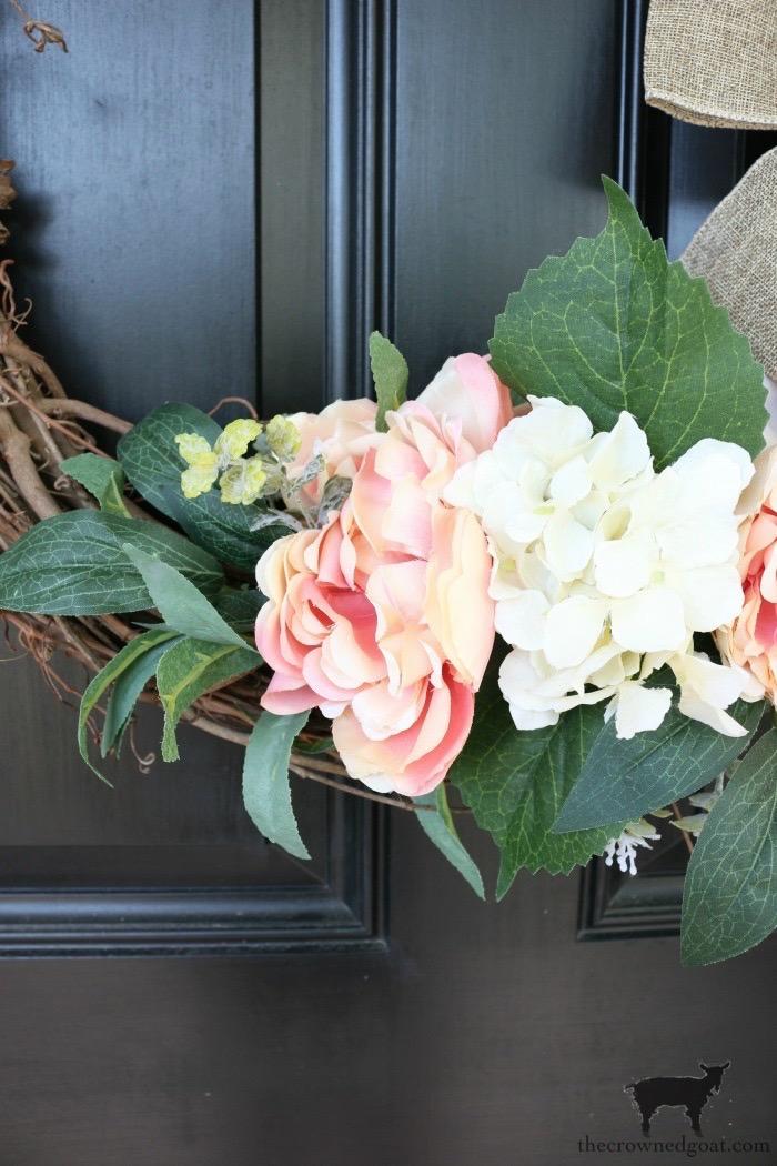 Simple Spring Grapevine Wreath
