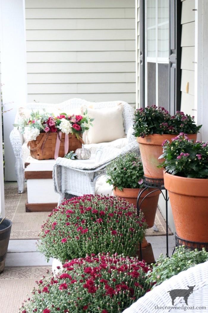 Elegant Fall Front Porch