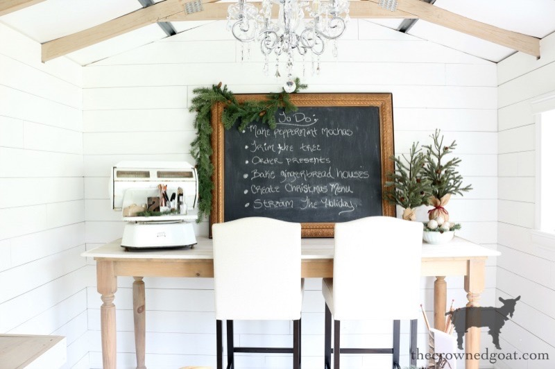 Budget Friendly Shed Makeover Reveal