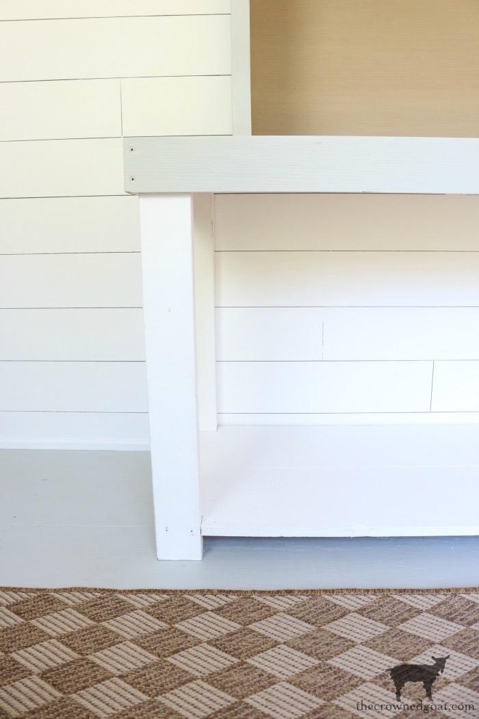 DIY Console Table Base