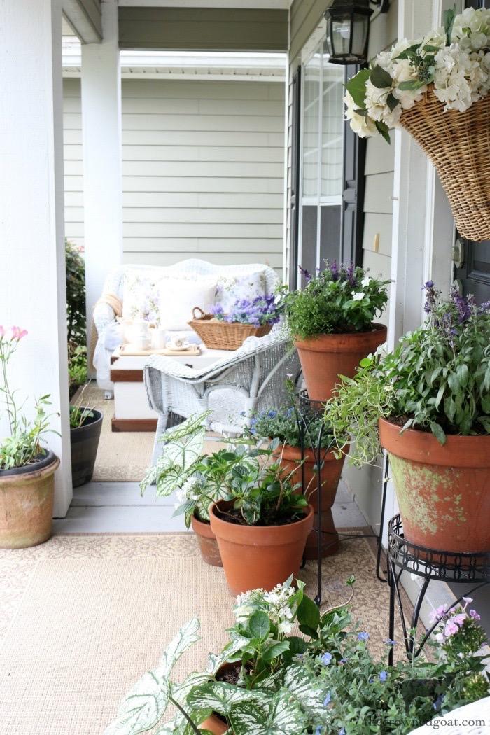 Cottage Inspired Summer Porch Tour
