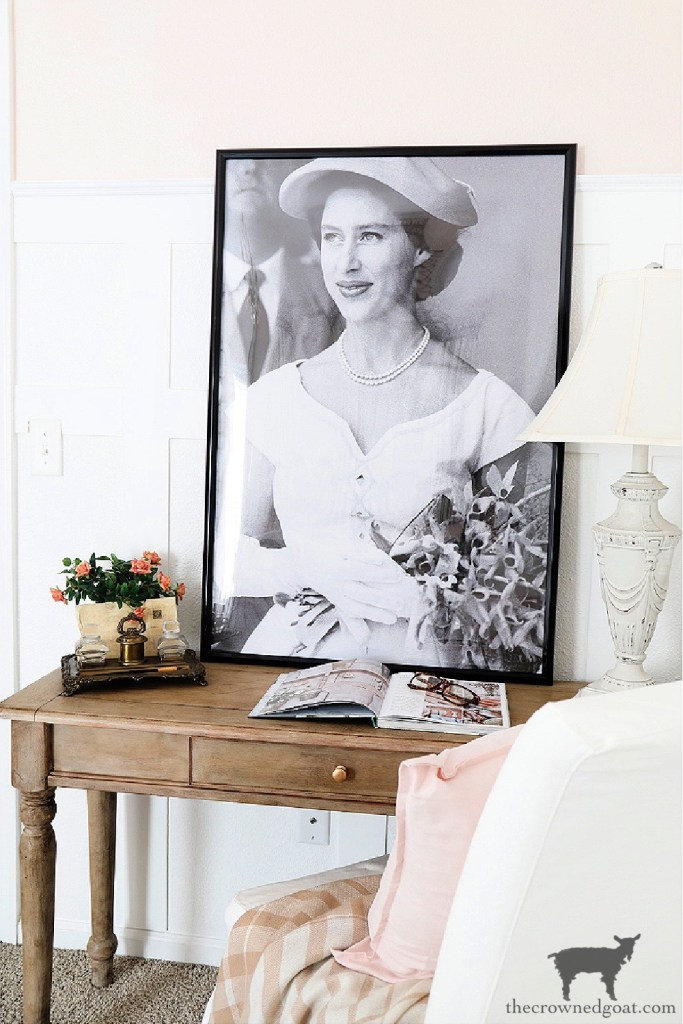 How to Create a Quick and Easy French Country Lamp Makeover-The Crowned Goat