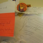 Welcome to my little corner of the world complete with reminders of all the solutions we should embrace. :-)