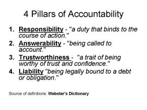 """Accountability for properly educating children requires personal responsibility on the part of all us. It isn't just about """"outcomes."""""""