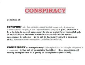 conspiracyDefined