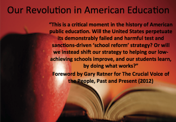The Crucial Voice of the People provides its readers with ideas and solutions that can be tailored to meet your schools' needs as well as the guidance needed for federal lawmakers to get it right.