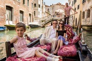 Gondola Ride Family