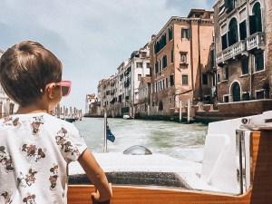 Child in Venice