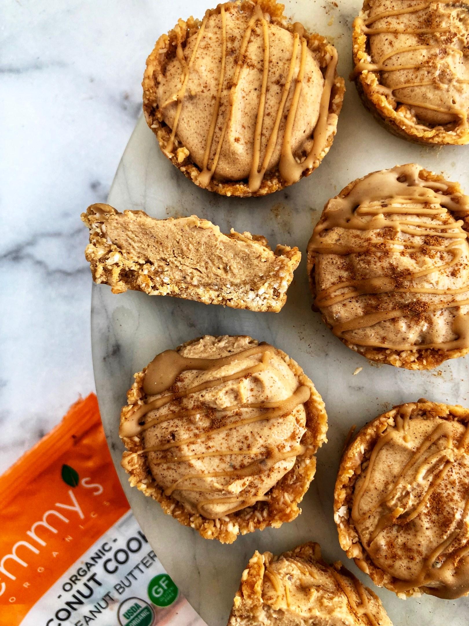 Peanut Butter Pumpkin Pie Tarts