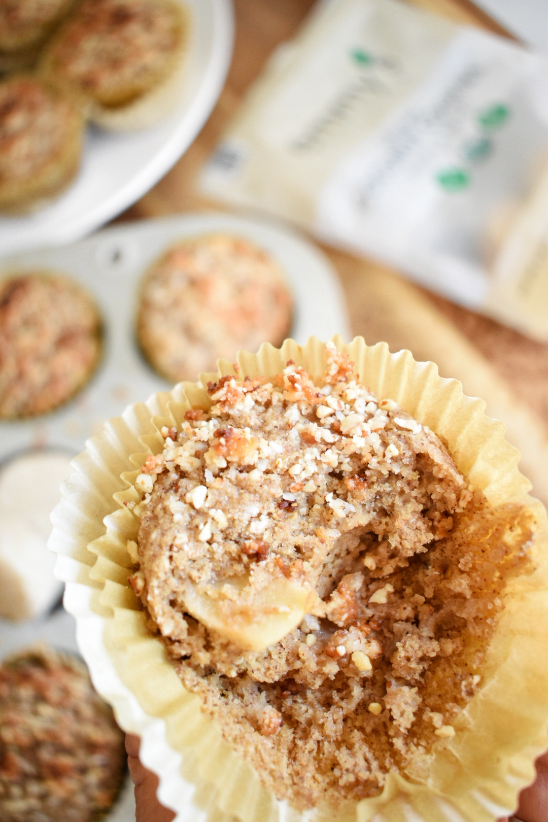 Apple Crumble Muffins