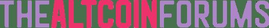 The Altcoin Forums Long Logo Dark