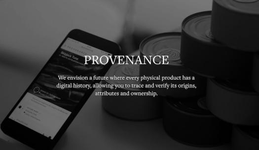 Provenance private blockchain