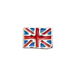 British Union Jack flag memory locket charm