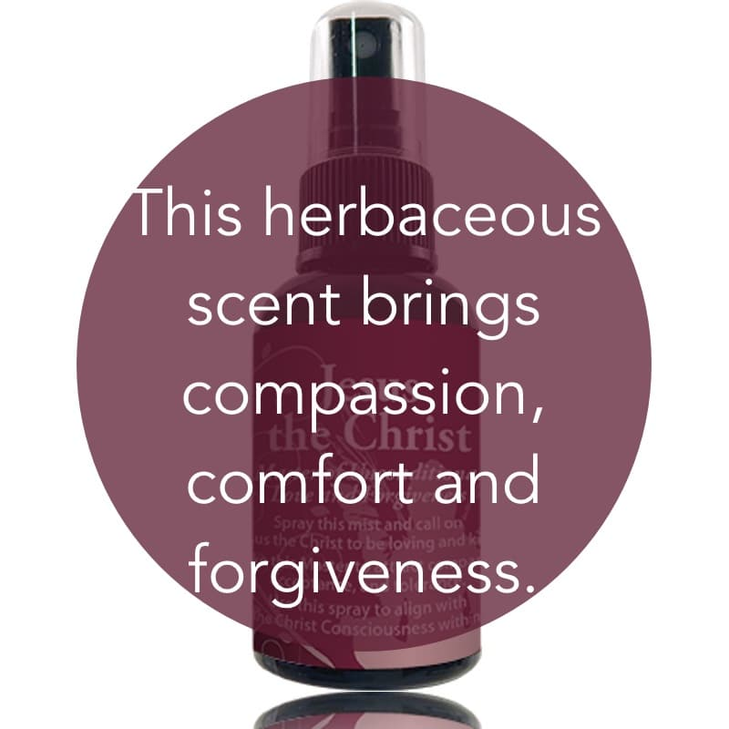 This herbaceous scent brings compassion, comfort and forgiveness.