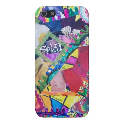 Color Eruption iPhone case available in my Zazzle store
