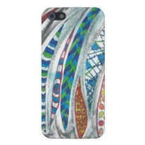 Patterned Slivers iPhone case available in my Zazzle store