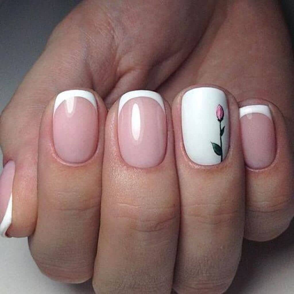 50 Awesome French Tip Nails To Bring Another Dimension To Your